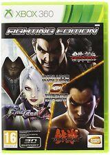Fighting Edition (Tekken Tag T. 2 + Soul Calibur V + Tekken 6 )  XBOX 360