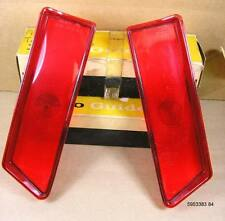 1962 Pontiac Star Chief Bonneville NOS Inner Tail Lamp Lens Pair, 5953383 84