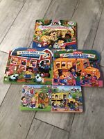 LOT 5 Fisher Price LITTLE PEOPLE Lift The Flap Large BOARD Books Small Set