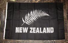 3x5 New Zealand Silver Fern Flag 3'x5' House Banner Brass Grommets