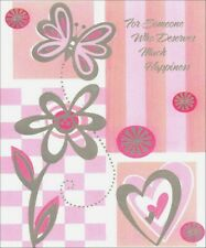 Silver Butterfly Birthday Card - Greeting Card by Freedom Greetings