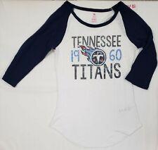 Tennessee Titans NFL Teens Juniors Medium (7/9) Long Sleeve Graphic Tee