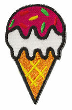 Ecusson patche Glace Ice Cream thermocollant embelissement patch