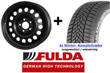 4x Winterräder für neuen VW Touran ab 09/2015 Felgen 205/60 R16 Fulda Reifen
