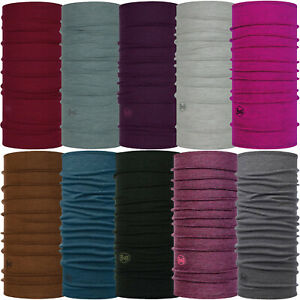 Buff Unisex Midweight Merino Wool Protective Outdoor Tubular Bandana Scarf
