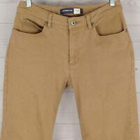Liz Claiborne Women's Size 4 Short Stretch Beige Straight Leg Beige Denim Jeans