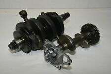 08 Kawasaki EX650R Ninja Crankshaft and Connecting Rods Counter Balance