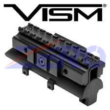 VISM SKS Rifle Tri-Rail Receiver Cover Scope Optic Weaver Picatinny Mount 4.8""