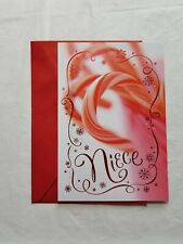 Christmas Greeting Card For Niece 8 x 5 1/2 inch Hallmark Expressions