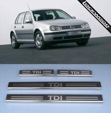 VW Golf Mk4 TDI (97 a 03) 4 in Acciaio Inox Porta Davanzale Protettori Calcio Piastre/