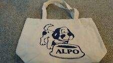 ALPO DOG CANVAS Tote BAG 1970'S /1980'S Grocery -Day Trips-Beach -NEW VINTAGE