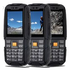 "Torch 2SIM Waterproof For ATT T-Mobile Cell phone 2.4""HD Unlocked 4800mAh Rugged"