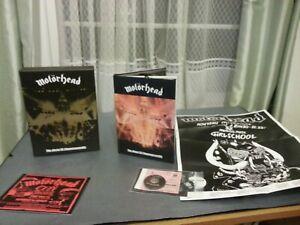 Motorhead - No Sleep til Hammersmith (4 CD BOX SET + ALL INSERTS ETC ETC NEW)