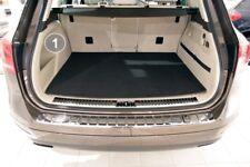 3-teilige Kofferraummatte mit Ladekantenschutz für VW Touareg 2 II 7P 2010-2018