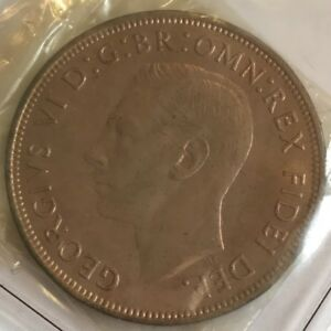 Great Britain George VI 1951 Penny Copper Coin