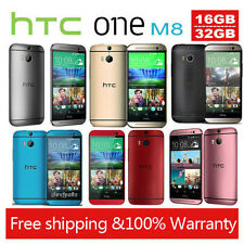 """5"""" HTC One M8 16GB Unlocked SIM Free Smartphone Android Moblie Phone Quad-Core"""