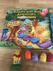 Disney Winnie The Pooh Talking Hundred Acre Wood Game Book. Rare Item From 2002.