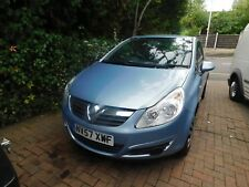 2008 57 Plate Vauxhall Corsa CLUB 1.4i Petrol 3 Door Hatch SPARES or REPAIRS