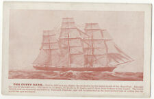 The Cutty Sark Vintage Postcard Unposted