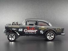 1955 CHEVY CHEVROLET BEL AIR GASSER 1:64 DIORAMA DIECAST MODEL CAR
