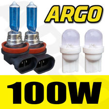 2 X H11 100W 501 LED HID SIDELIGHT SUPER WHITE XENON HEADLIGHT LIGHT FOG BULBS