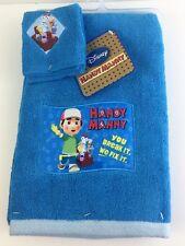 Handy Manny 2 Piece Cotton Bath Towel Washcloth Set Playhouse Disney New
