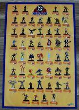 Hero Clix 50 Pix 2002 Catwoman Nightwing Harley Quinn Darkseid Wizkids DC Poster