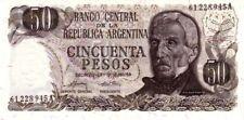 Argentine - Argentina billet neuf de 50 pesos pick 296 signature 2 UNC
