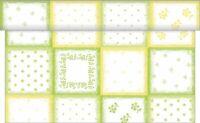 1 Tischläufer Cookie in Grün aus Linclass® Airlaid 40 cm x 4,80 m - Einweg