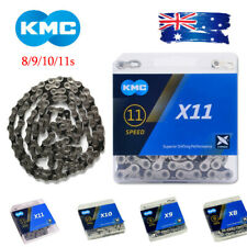 "KMC 8-11s MTB Road Bicycle Chain 116/118 Links double ""X"" Bridge Sprocket Chains"