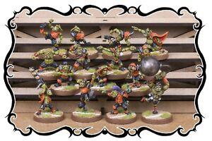 FANTASY FOOTBALL - NEOMICS - Goblin Team (15 miniatures)