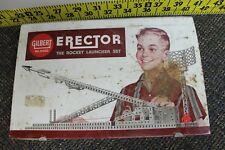 Vintage 1959 Gilbert Erector Set The Rocket Launcher Set 10053