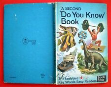 A Second Do You Know Book vintage Ladybird children bedtime learning Key Words_