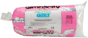 """Air Lite Traditional Loft Quilt Batting -Full Size 84""""X100"""" FOB: MI"""