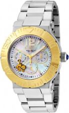 BRAND NEW INVICTA 24870 GARFIELD CHARACTER COLLECTION GOLD MOP DIAL  SILVERWATCH