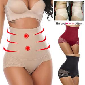 YaShaer Damen Unterhosen Unterw/äsche Baumwolle Taillenslip Hohe Taille Miederhose Mehrpack