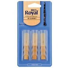 Rico Royal Bb Clarinet Reeds 3 Pack. Strength 3. Clarinet Reed 3. x 3.0