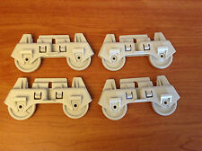 Whirlpool Kenmore Dishwasher Lower Rack Wheel (Set of 4) 8268645