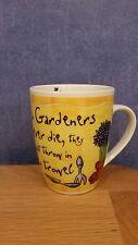 "History & Heraldry Fine Porcelain It's only a job *Gardners""Mug"