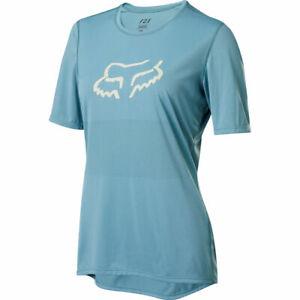 Fox Racing Women's 2020 Ranger Short Sleeve s/s Jersey Light Blue