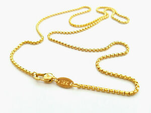 Source 24 inch 18ct Gold Belcher Chain Necklace 2mm thick