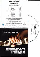 CD COLLECTOR IN PLASTIC SLEEVE BIRELI LAGRENE MOUVEMENTS 11 TITRES