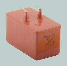 2 uF 1600 V RUSSIAN PAPER IN OIL AUDIO CAPACITORS MBGP-1 МБГП–1