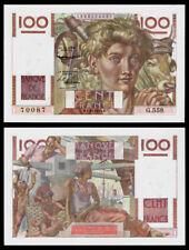 Billet France - 100F Paysan FILIGRANE INVERSÉ - 01.10.53 -  SPL+ - Fay : 28bis.3