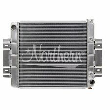 NORTHERN 205054 73-86 JEEP CJ5 CJ7 ALUMINUM RADIATOR W/ CHEVY 350 V8 ENGINE SWAP