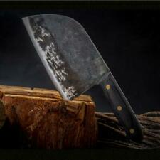 Serbian CHEF KNIFE Hunters Steel KITCHEN KNIVES Cleaver Forged By Master Artisan