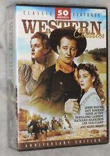 Western Classics 50 Cowboy Movies DVD Box Set Region Free NEW & SEALED