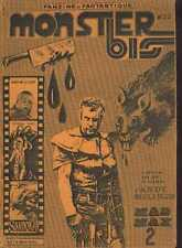 MONSTER BIS 22 Monstres cinema MAD MAX ESTELLA BLAIN Horror French Fanzine