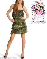 480€ CUSTO BARCELONA. Vestido Flecos Charleston L/42. Fringe Dress.Vestito.Robe