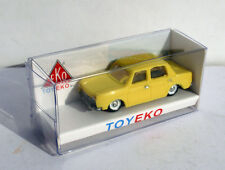 SIMCA 1000 AMARILLO YELLOW 1/87 TOYEKO TOY EKO